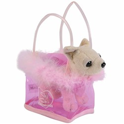 ИГРУШКА Simba Toys ChiChi Love 105891717 Mini Dog 'Fancy Feathers' in Bag White by Simba Instruments