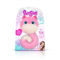 ИГРУШКА Pomsies Pinky Plush Interactive Toys, Pink/White
