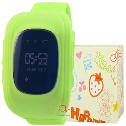 GPS Smart Kids Watch FW01 зел