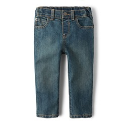 ДЖИНСЫ НА МАЛЬЧИКА Baby And Toddler Boys Basic Skinny Jeans - Tide Pool Wash