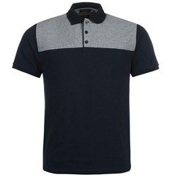 ПОЛО МУЖСКОЕ Pierre Cardin Textile Panel Polo Shirt Mens