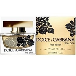 ПАРФЮМЕРНАЯ ВОДА DOLCE & GABBANA THE ONE LACE EDITION (WOM) 75 ML
