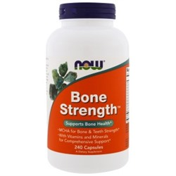 Now Foods, Bone Strength, 240 капсул