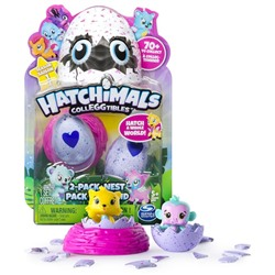 ИГРОВОЙ НАБОР Hatchimals Colleggtibles with Nest - 2-Pack (Colors/ Styles May Vary)