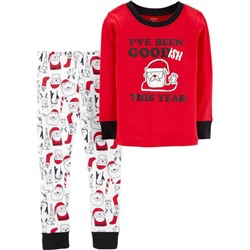 ПИЖАМА НА МАЛЬЧИКА 2-Piece Christmas Snug Fit Cotton PJs