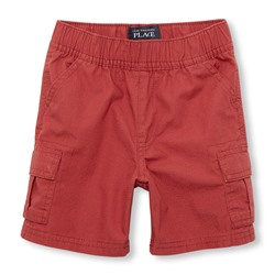 ШОРТЫ НА МАЛЬЧИКА Toddler Boys Ripstop Woven Pull-On Cargo Shorts CLEARANCE