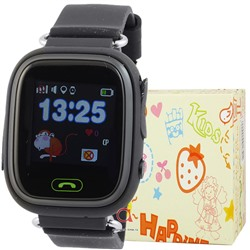 GPS Smart Kids Watch FW01T чер