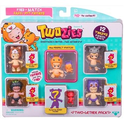 ИГРА Twozies Season 1 Two-gether Pack, Styles will Vary