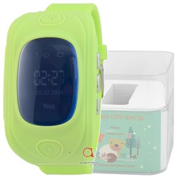GPS Smart Kids Watch FW01S зел