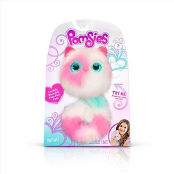 ИНТЕРАКТИВНАЯ ИГРУШКА Pomsies Patches Plush Interactive Toys, White/Pink/Mint, Style: Standard