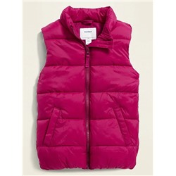 ЖИЛЕТКА НА ДЕВОЧКУ Frost-Free Quilted Puffer Vest for Girls
