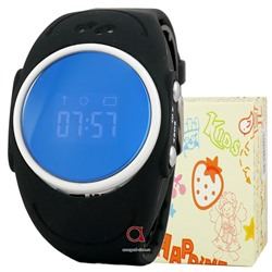GPS Smart Watch Waterproor Q520S чер