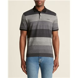 ПОЛО МУЖСКОЕ CALVIN KLEIN  Striped Performance Pique Polo