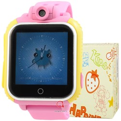 GPS Smart Kids Watch FW02T жел с роз