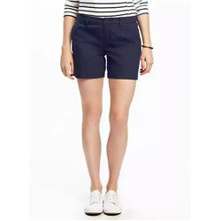 oldnavy ШОРТЫ ЖЕНСКИЕ Mid-Rise Everyday Khaki Shorts for Women (5')