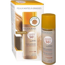 BIODERMA PHOTODERM NUDE TOUCH SPF50+ SOLAIRE PERFECTEUR TEINTE DOREE 40ML