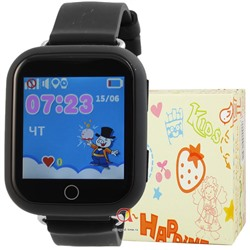GPS Smart Kids Watch FW03T чер
