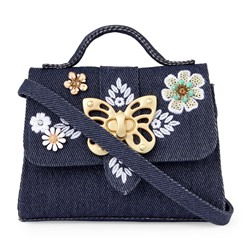 СУМКА ДЛЯ ДЕВОЧЕК Girls Embellished Butterfly Satchel Bag
