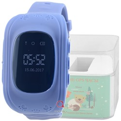 GPS Smart Kids Watch FW01 син
