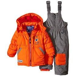 КОСТЮМ ДЕТСКИЙ Rugged Bear Baby Boys' Robot Snowsuit and Coat Two-Piece Set