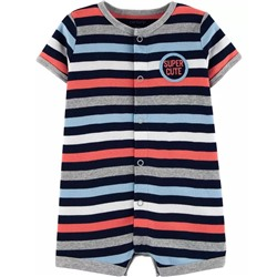 Carter's | Baby Striped Snap-Up Romper