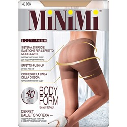 Колготки MINIMI Body Form 40 | Caramello (Карамель)