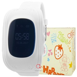 GPS Smart Kids Watch FW01 бел